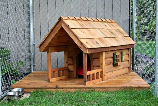 Out of the Ordinary Porches #6 and yes, dogs need porches!