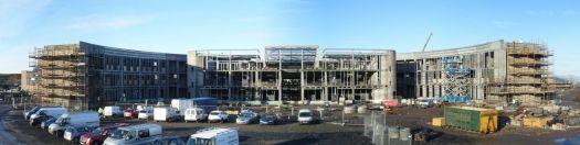 Port Glasgow High Schools under construction.