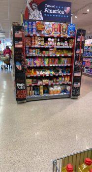 Taste of America (in the Irish grocery)
