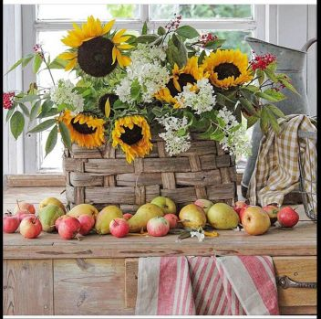 Fruit and flowers from Denmark
