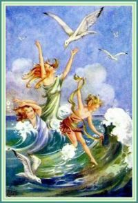 Dance of the Sea Sprites (smaller size)