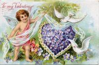 Vintage Valenting Doves