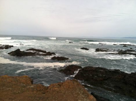 Fort Bragg, CA surf March 2012