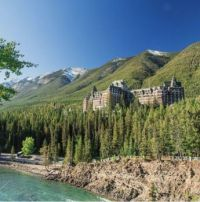 Hotel in the Rocky Mountains