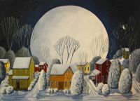 Starry Sky Quiet Night by Debbie Criswell