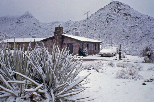 My Arizona Ranch House - Winter