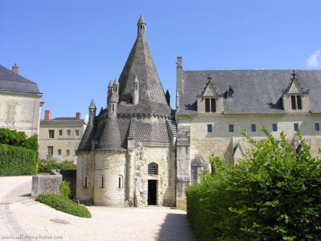 Abbey de Fontenraud, France