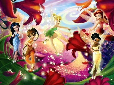 Tinkerbell and Friends!