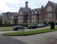 The former Pen-y-fal Hospital, Abergavenny