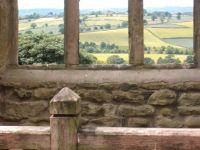 View over Derbyshire from Hardwick Hall