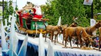 Christmas Pageant -Santa Has Arrived in Australia