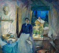 My Mother, 1929, N. C. Wyeth (1882-1945)