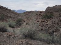 The rugged back country of the Arizona desert