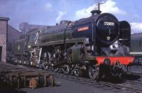 BR Standard Class 6P5F 4-6-2 72009 Clan Stewart.
