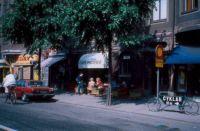 Café Pacifico, Stockholm, Sweden, in 1985