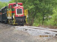 East Broad Top Railroad the Christmas locomotive