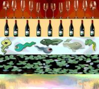 wine wrung from happy tadpoles