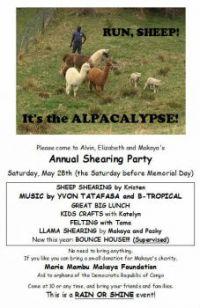 Shearing Party