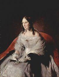 Francesco Hayez Porträt der Prinzessin di Sant' Antimo 1840-44