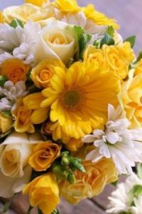 Happiness is.... A Glorious Sunshine Bouquet.