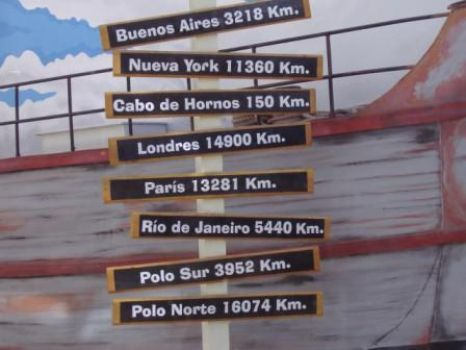How far is Ushuaia?