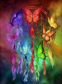 """1  ~  """"Rainbow Dream Catcher"""""""
