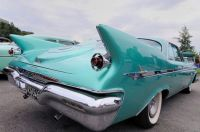 1961 Chrysler Imperial fins and suspended tail lights