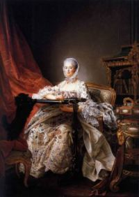 Portrait of Madame de Pompadour at her Tambour Frame