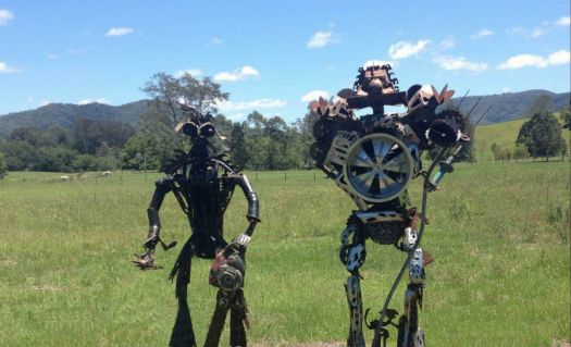 Cybots Watching Kenilworth Queensland Australia