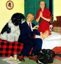 Dr. and the dog by Richard Sargent