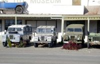 Old Landrovers