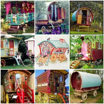 Friday Funspiration Gypsy Waggons, by merwing little dear on flickr