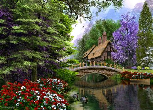 Magical Spring Cottage