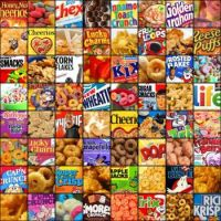 Cereal brands mosaic