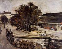 Paul Cézanne: La Halle aux Vins a Jussieu (1872)