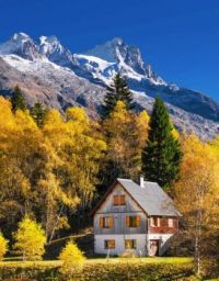 House By the Mountains -- France...