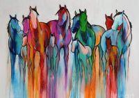 """""""Rainbow Horses"""""""