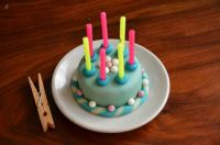A mini cake
