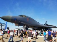 B1 bomber at Oshkosh 2017