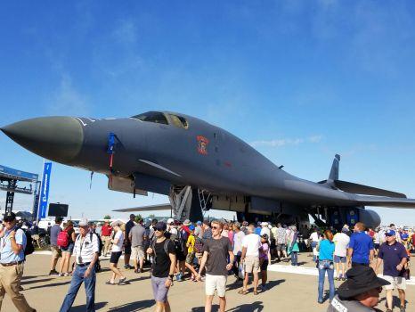 B1 bomber at Oshkosh 2017
