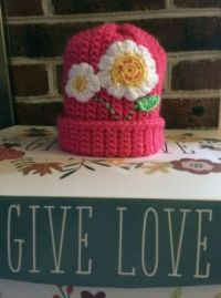 Crocheted Kids Hat