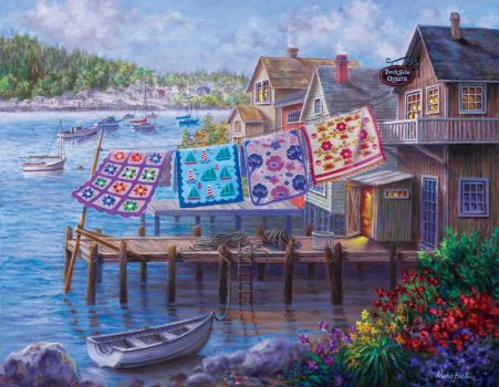 """Dockside Quilts""-Nicky Boehme"