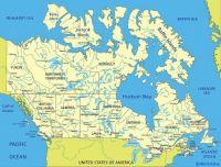 Canada Hudson Bay Map