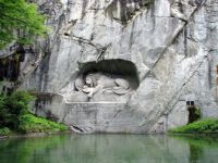 Lucerne  Switzerland  the dying lion