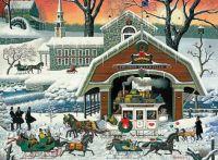 Charles Wysocki - The Night before Christmas