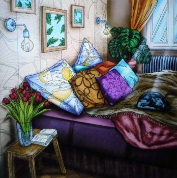 Comfy and cozy . . . . .