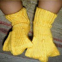 Duck feet booties