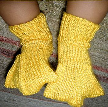 Duck feet booties