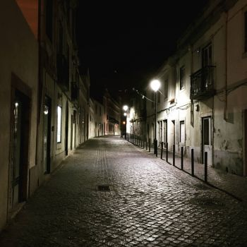 Carnide at night (Lisboa)