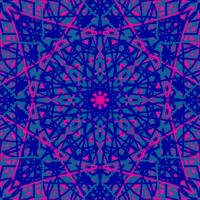 Kaleidoscope Pink and blue